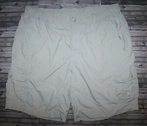 """THE NORTH FACE MEN'S 100% NYLON CARGO 9.5"""" OUTDOOR HIKING SHORTS SIZE XL"""