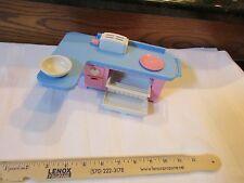 Toy Little Dollhouse Doll size part playskool kitchen dishwasher sounds toaster