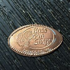 Bass Pro Shops Concord NC Fish Smashed pressed elongated penny P3167
