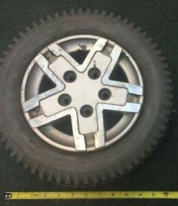 1 Jazzy Wheelchair Rc Lawnmower Robotics Electric crab pot puller wheel tire rim