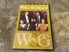 Will And Grace - Season 8 - The Final Season (DVD, 2008, 4-Disc Set) NICE!
