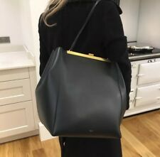 Céline Rare Clasp Tote Bag Black Calfskin Leather £2.75K RRP Authentic New