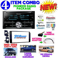 95-02 GM TRUCK SUV DVD CD TOUCHSCREEN BLUETOOTH DOUBLE DIN CAR STEREO RADIO