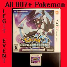 Pokemon Ultra Moon Loaded With All 807 + 100+ Legit Event Pokemon Unlocked