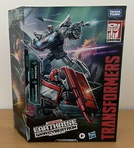 Transformers War for Cybertron Earthrise Ironhide & Prowl Autobot Alliance - NEW