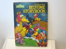Vintage 1978 The SESAME STREET Bedtime Storybook HC Jim Henson's Muppets