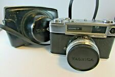 VINTAGE 1960s YASHICA MINISTER-D CAMERA WITH CASE WORKS