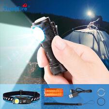TrustFire MC12 1000LM Rechargeable Handheld Flashlight And Headlamp w/Headband
