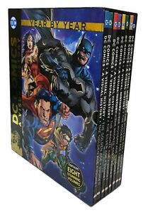 DC Comics: A Visual History 8 Volume Set Hardcover BRAND NEW AND SEALED!