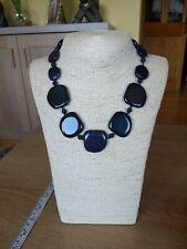 Lola Rose Harbor Necklace Vintage  Blue Sandstone Necklace NWT