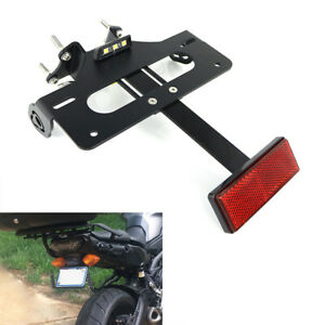 Tail Tidy License Plate Holder Bracket Fit For Yamaha FJ-09 MT-09 Tracer 15-20
