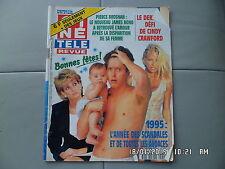CINE REVUE N°52 28/12/1995 PIERCE BROSNAN A.ANGER CINDY CRAWFORD VIRLOGEUX    H3
