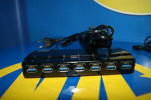 7 Anschlüsse USB Anker Hub 3.0 + Verlängerungskabel aus / Von Stromversorgung