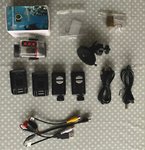 2x MobiusMini Action Cameras - Wide Angle Lens 1080P Action Dash cam Bundle