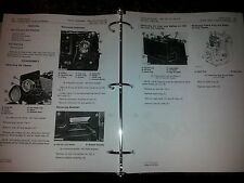 NEW JOHN DEERE 300 312 314 AND 316 HYDROSTATIC TRACTOR SERVICE MANUAL