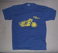 Tee Shirt Royal Enfield Bleu