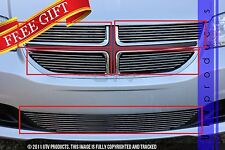 GTG 2011 - 2016 Dodge Grand Caravan 5PC Polished Overlay Billet Grille Grill Kit
