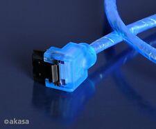 Akasa SATA3 6Gb/s Cable Blue UV Reactive 100cm