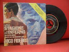 NICO FIDENCO Una Stagione All'Inferno 7/45 OST 1971 NMINT RARE Made In Italy