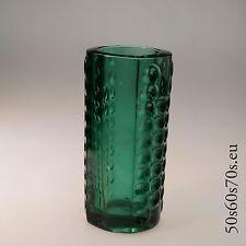Vase Rudolfova Glassworks Jurnickl 1963 H=20,5 cm 60s Design #185