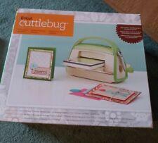 Cricut Cuttlebug Embosser and Die cutting machine PLUS (3 folders and steel die)