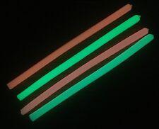 "8.5"" 5/16""I.D. Super Bright Glow in the Dark tubing deep sea fishing chaff tube"