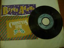 "BRIAN ADAMS""CHRISTMAS TIME-disco 45 giri AM Ger 1985"" NATALE"