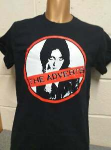 The Adverts / Gaye Advert  - OFFICIAL Black T-Shirt - NEW 2021, punk *SALE £9.99