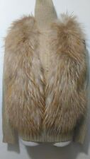 new design 100% real coyote fox fur waistcoat full pelt