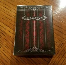Red Artifice Playing Cards by Ellusionist - New
