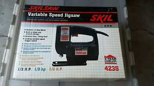 Skil Corded Electric 3.2A Variable Speed Jigsaw Skilsaw 4235 Sealed Box NOS