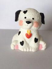 1991 Hallmark Merry Miniature Valentines Dalmation Puppy w/Heart Spots