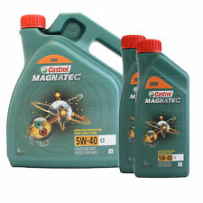 Castrol MAGNATEC 5W-40 5W40 C3 Fully Synthetic Engine Oil - 6 Litres (4L + 2x1L)