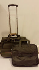 ATLANTIC Luggage Carry-On Overnight Roller Bag Laptop Briefcase Wheel Handle
