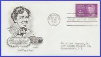 USA3 #1236 ADDR ARTMASTER FDC   Eleanor Roosevelt