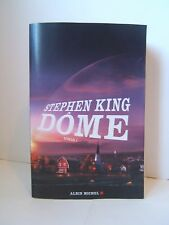 Stephen King Dome Roman 1 Albin Michel French Francais Book