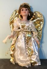 "The Heritage Signature Collection 16"" Porcelain Angel Doll Jolene Noel #12309"
