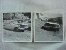 Vintage Car Photos 1961 Chevrolet Impala Bubble Top Wreck 819