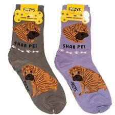 Shar Pei Foozys Canine Dog Crew Socks