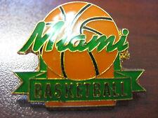 University of Miami Pin - Basketball