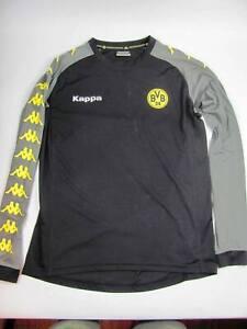 Youth XL Kappa Borussia Dortmund Long Sleeve Gray Soccer Jersey XL