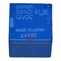 New In Box OMRON G8ND-2UK-12VDC Electronic Parking Brake Actuator Relay