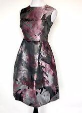 Carolina Herrera Silver Pink Formal Dress. Retails $910 Price $399 Size 8 NWT