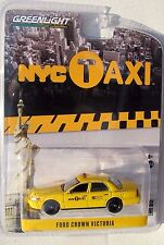 GREENLIGHT NYC TAXI CAB FORD CROWN VICTORIA HOBBY EDITION