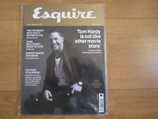 Esquire Magazine January 2017 Tom Hardy Sealed With Free Watch Supplement.