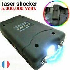 TASER SHOCKER - Self-défense - 5.000.000 VOLTS + Etui + Chargeur USB + Boîtier
