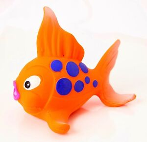 Natural rubber Bath Toy KACY the Fish by Lanco