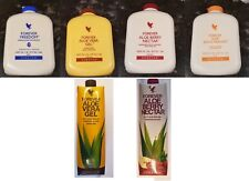 FOREVER LIVING - ALOE VERA GEL DRINK - ALL 4 TYPES AVAILABLE (1L) NEW AND SEALED