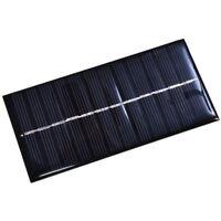 6V 200mA 1W 125x63x3mm Solarmodul Solarzelle Monokristallin Vergossen Panel