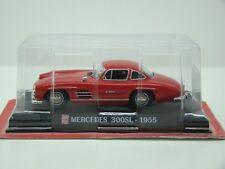 MERCEDES 300SL DE 1955 - 1/43 - AUTO PLUS N° G1193023 - HACHETTE COLLECTION -